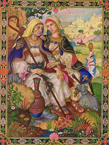 Ruth y Noemí