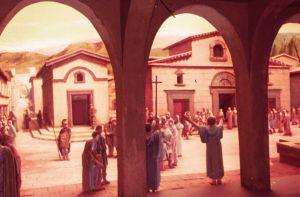 Iglesia del Padre Crisóstomo. Urgiendo a los cristianos a separarse de los judíos. Antioquía, s. IV