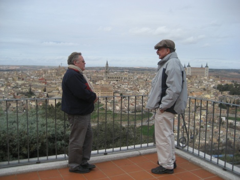 Jaime y Don Samuel en Toledo