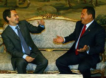 Chavez y Zapatero