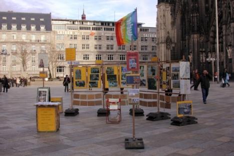 Exposición antisemita en Alemania cancelada