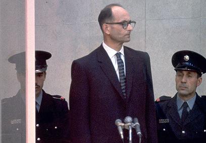 Juicio en Jerusalem al nazi Eichmann capturado por el Mossad en Argentina