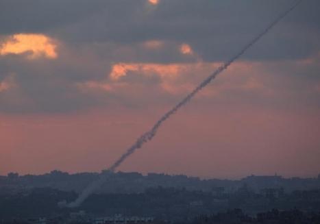 Ataque desde gaza con misiles Grad